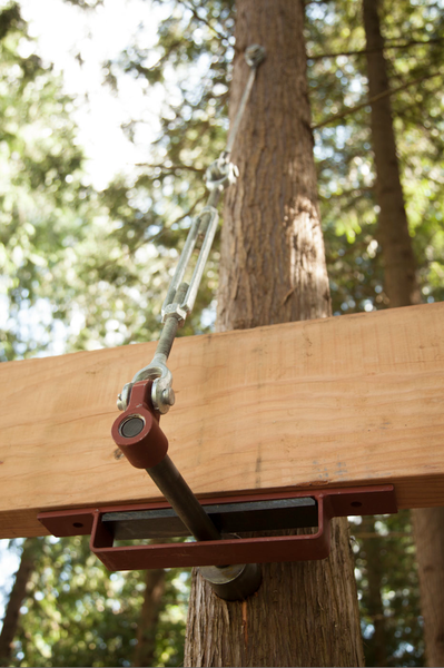 Treehouse Attachment Bolt Suspender System Be In A Tree