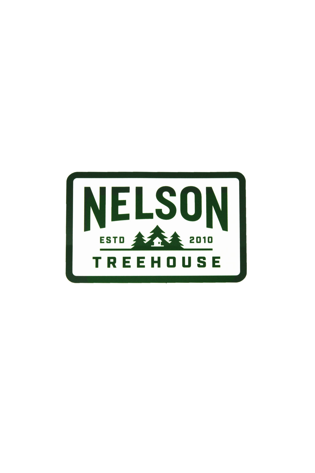 NEW Nelson Treehouse Sticker