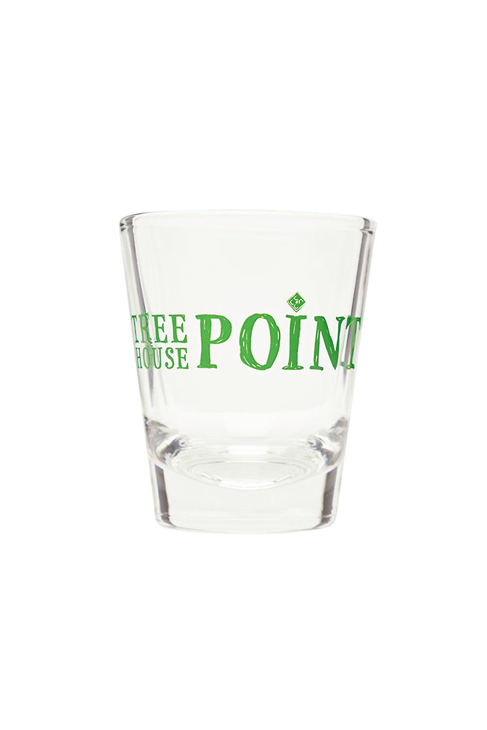 Treehouse Point Shot Glass