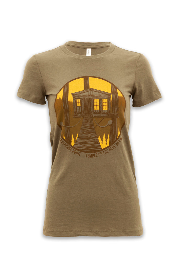 Temple of the Blue Moon T-Shirt - Women