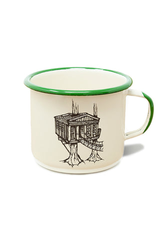 Enamel Mug - Temple of the Blue Moon