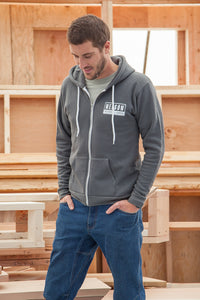 Texas Spa Treehouse Zip-Up Sweatshirt