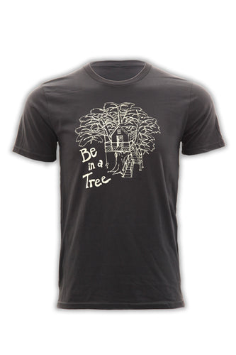 Be In A Tree T-Shirt - Slate