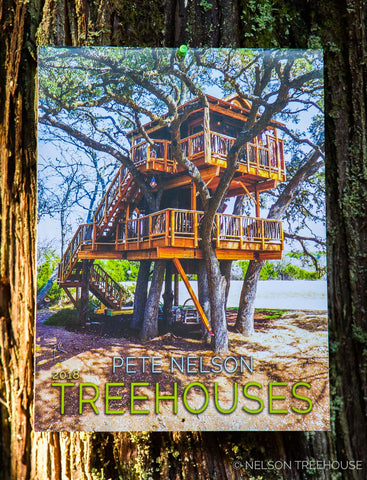 pete nelsons 2018 treehouse calendar - Treehouse Masters Irish Cottage