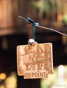 Upper Pond Treehouse Ornament