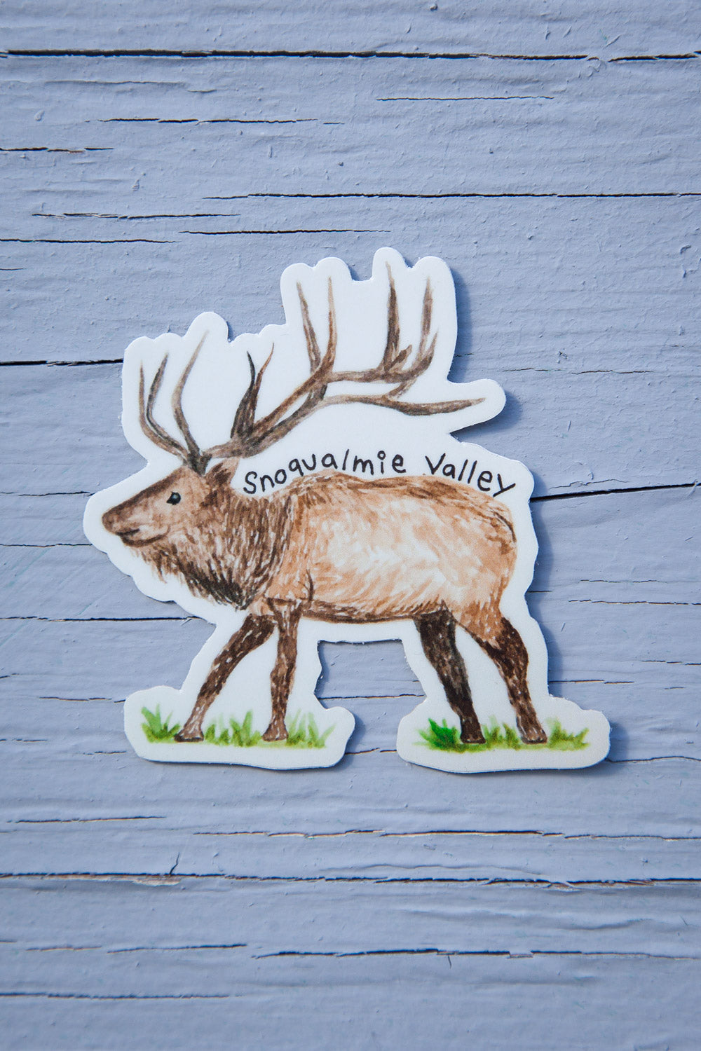 Snoqualmie Valley Sticker