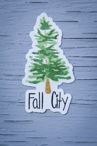 Fall City Sticker