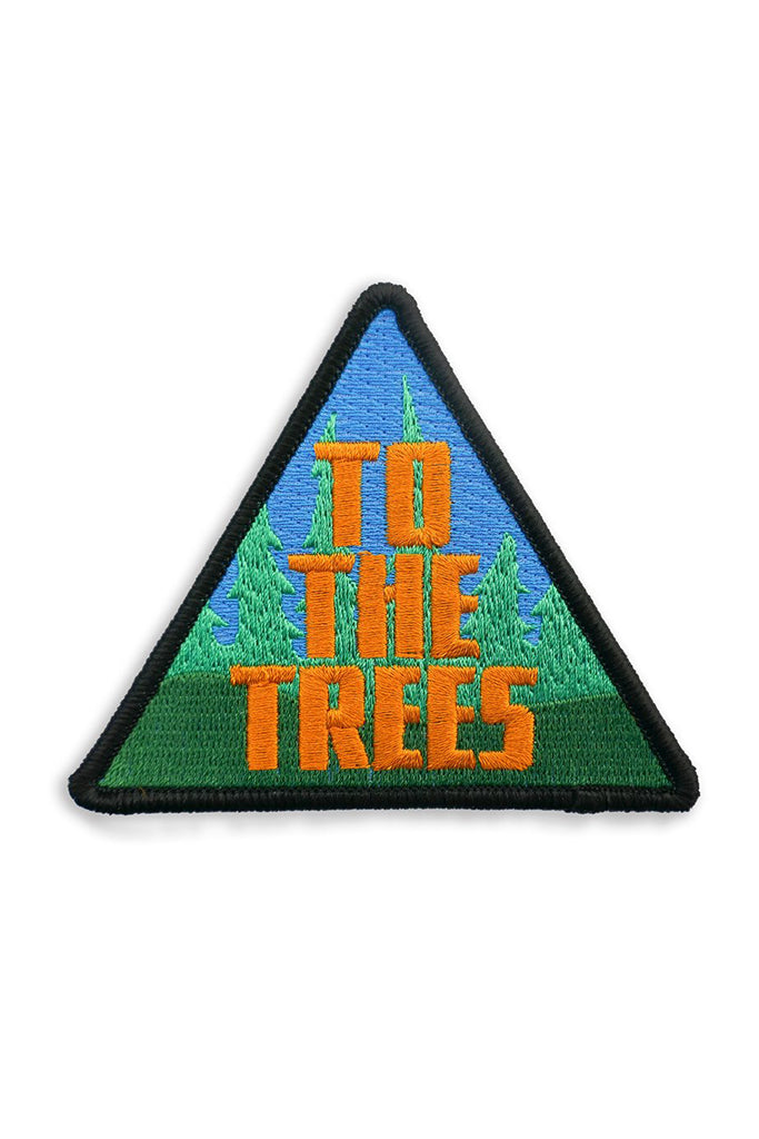 Iron-On Patch - To The Trees