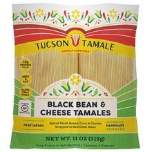 Load image into Gallery viewer, Black Bean & Cheese Tamales