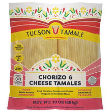 Load image into Gallery viewer, Chorizo & Cheese Tamales