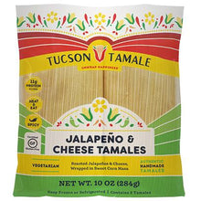 Load image into Gallery viewer, jalapeño and cheese tamales