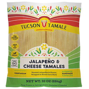 jalapeño and cheese tamales
