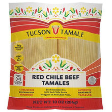 Load image into Gallery viewer, Red Chile Beef Tamales