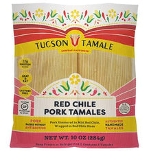 Load image into Gallery viewer, red chile pork tamales