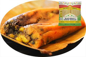 Black Bean & Cheese Tamales