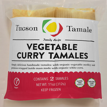 Load image into Gallery viewer, vegetable curry tamales