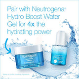 Neutrogena Hydro Boost Hyaluronic Acid Hydrating Water Gel Daily Face Moisturizer for Dry Skin, Oil-Free, Non-Comedogenic & Dye-Free Face Lotion, 1.7 Fl Oz