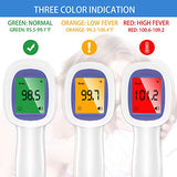 Forehead Thermometer for Adults, The Non Contact Infrared Thermometer for Fever, Body Thermometer and Surface Thermometer 2 in 1 Dual Mode Thermometer