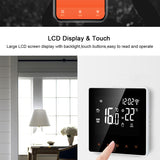 WiFi Smart Thermostat, Electric floor Heating Water/Gas Boiler Temperature Remote Controller for Google Home, Alexa