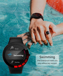 E3 Sports Smart Watch Men IP68 Waterproof Full Touch Screen Silicone Strap for Android IOS Phone Fitness Tracker
