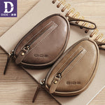 Key Wallet Mini Coin Wallet Genuine Leather Cover Zipper keychain Car Key Case Organizer Large Capacity Luxury Brand