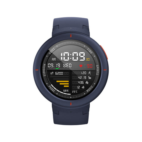 Amazfit Verge Smartwatch GPS Call Answer Smart Message Push Heart Rate Monitor for Android Phone iOS