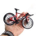 Alloy Bicycle Model Diecast Metal Finger Mountain bike Racing