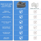 Orthopedic Pillow for Sleeping Memory Foam Leg Positioner