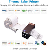 4 inch Thermal Barcode Label Printer Commercial Grade High Speed Printer Compatible with eBay USPS Barcode Printer 4x6 Printer