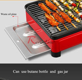 Small BBQ Barbecue Grill Folding Portable Charcoal Outdoor Camping Picnic Burner Barbecue Oven