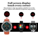 Smart Watch for Men IP68 Waterproof Full Touch Screen Smartwatch For Android IOS Phone Sports Fitness Tracker