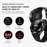 Smart Watch TWS Bluetooth Earphone 2In1 Heart Rate Blood Pressure Monitor for Android IOS