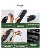 Baseus Portable Car Vacuum Cleaner Wireless Handheld Auto Vaccum 5000Pa Suction For cars