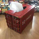Container Model Toys Wrought Iron Tissue Box 24 CM Retro Pumping Box