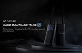 Xiaomi Walkie talkie 2 IP65 Radio Waterproof And Dust-proof Portable Outdoor Radio Transceiver UVHF Dual Band Interphone