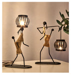 Creative Candle Holder Iron Home Decoration Romantic Candlestick