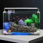 Fish Tank Aquarium Decor the Great Wall Ornament Reptile Fish Hideout Cave