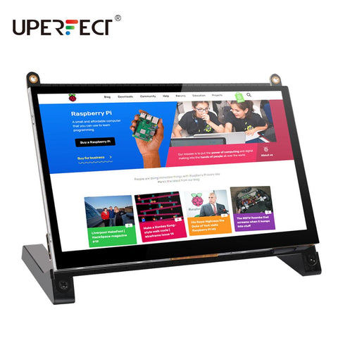 Portable Monitor Raspberry Pi touch screen 7-inch 1024X600 with dual speakers portable capacitive IPS display with HDMI
