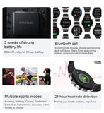 Bluetooth Call Smart Watch Men S-600 IP68 Waterproof Full Touch Screen Sports Fitness Smartwatch Custom Face For Android IOS