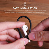 2Pcs Mini Anti-fall Bluetooth Headset Earhooks Earphone Holder for Air-pods 1 2