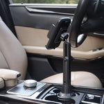 "360 Degree Car Cup Holder Mobile Phone Mount Adjustable Angle Height Stand for -iphone -Samsung 3.5-6.7"" Cellphone"