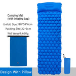 Ultralight sleeping pad fast filling air bag camping sleeping mattress trekking hiking camping mattress inflatable Single