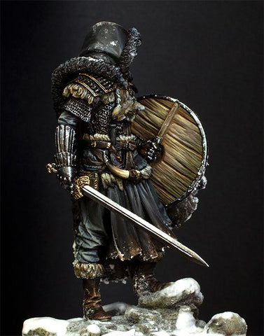 Northern Wandering Knight 75mm toy Resin Model Miniature resin figure Unassembled Unpainted