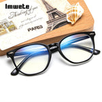 Anti Blue Light Computer Glasses Frame Men Women Transparent