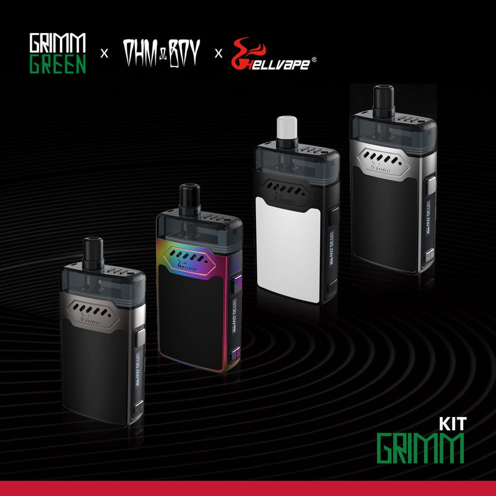<font color=red>New</font><br> HELLVAPE GRIMM 30W POD Kit