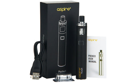 Aspire PockeX Pocket AIO <br>Starter Kit - 1500mAh