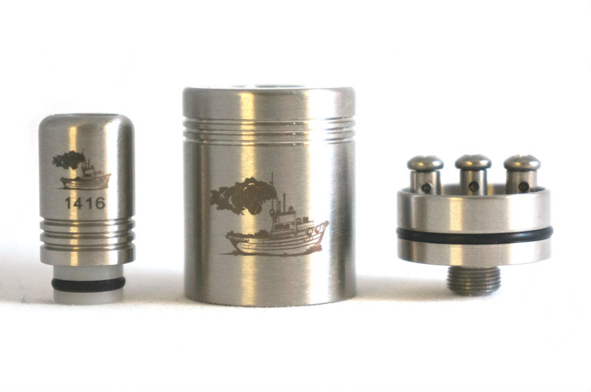 Tugboat V2 RDA replica by Tobeco