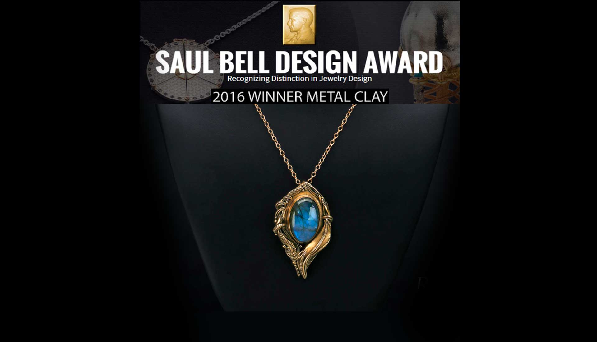2016 Saul Bell Award Winner (Metal Clay) - Metal Clay Adventures
