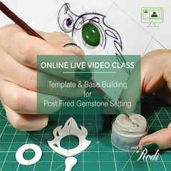 Metal Clay Template And Base Building - Live Video Class - Metal Clay Adventures