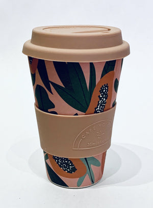 Papaya Coffee Cup